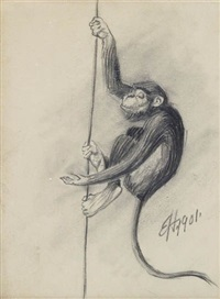 monkey by edward hopper