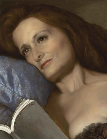 the pillow by john currin