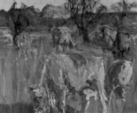 weidende kühe by balz camenzind
