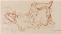 odalisque by louis adolphe riou