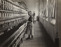 sadie, a cotton mill spinner, lancaster, south carolina by lewis wickes hine