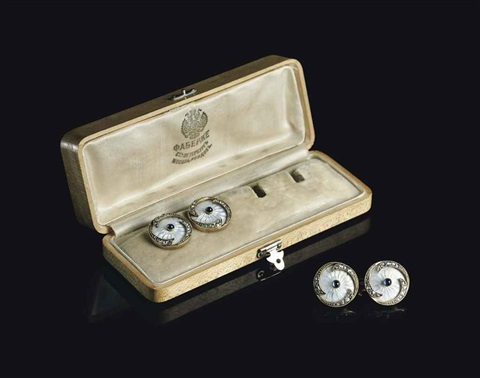 cufflinks by fabergé co