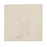 nap. buonaparte's legs (sketch) by denzil o. ibbetson