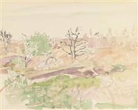 landscape by stuart davis