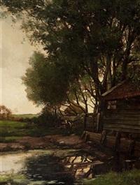 farmstead by johannes martinus bach