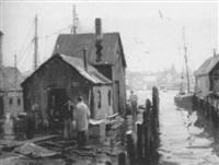 fish wharf #1 by junius james allen