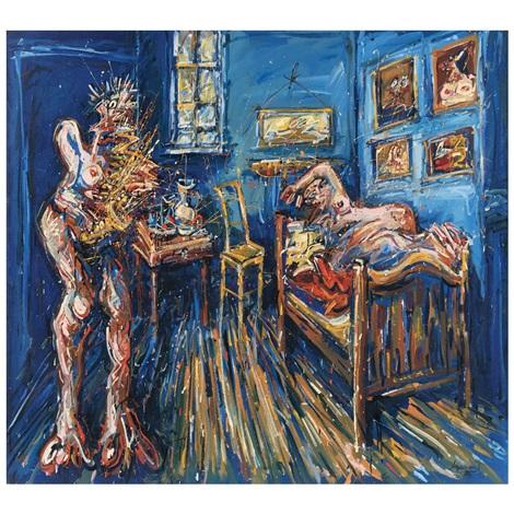 Visitación de las beboperas al cuarto de Van Gogh by Jazzamoart on ...