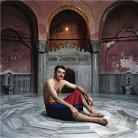 undressed & girded 1 (from the oriental illusions series) by ahmet sel