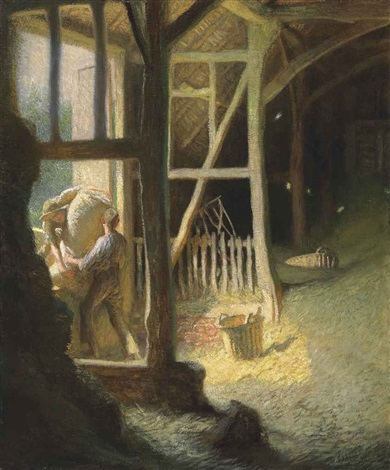 the barn door by sir george clausen