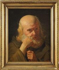 le philosophe en contemplation by jean-jacques-françois monanteuil