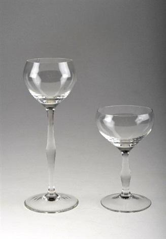 römer und rotweinglas set of 2 by peter behrens