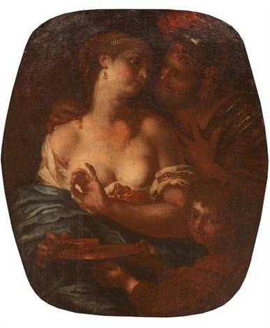 mars venus et cupidon by johann karl loth