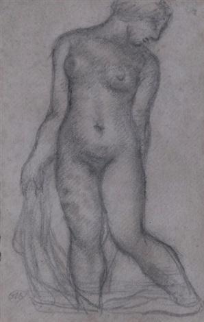 femme nue débout by aristide maillol