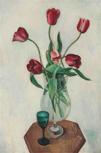 tulips by charles sheeler