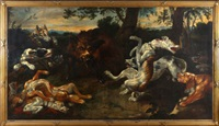 the boar hunt by frans snyders