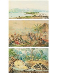 landscapes of venezuela (17 works) by anton goering