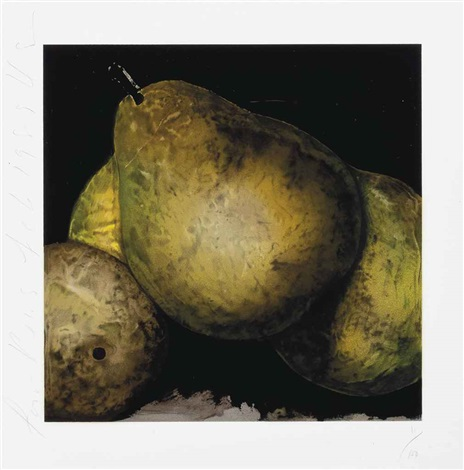 four pears by donald sultan