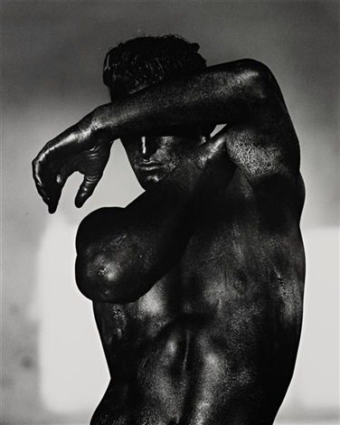 tony black torso los angeles by herb ritts