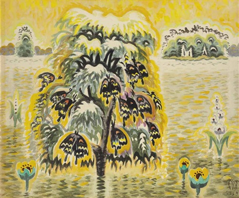 golden dream by charles ephraim burchfield