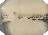 vue du port de marseille by charles choiselat and stanislas ratel