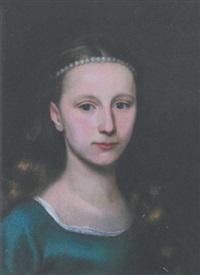 portrait de jeune fille by johann ulrich mayr