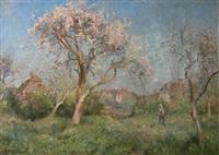 apple blossom by james herbert snell