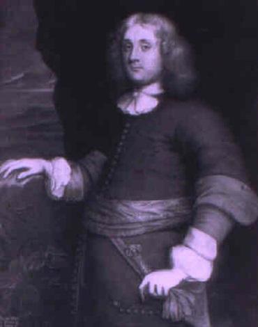 portrait of a gentleman mr r marriott  by john hayls