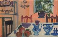 still life on table by simone mary bouchard
