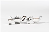 tea set (set of 4) by pier van der woude