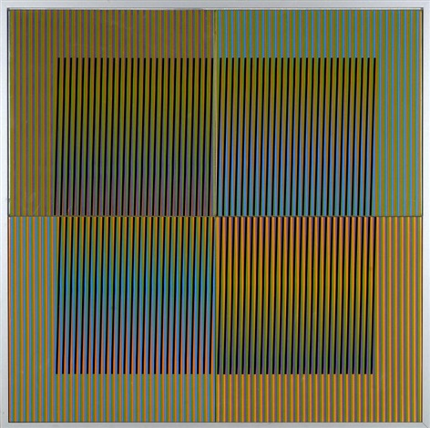 ceramique n°14 by carlos cruz diez