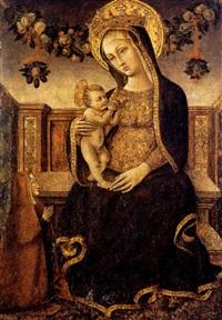 madonna con il bambino by pietro alamanno