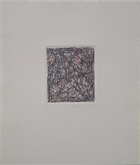untitled (grey) (15 works) by charles arnoldi