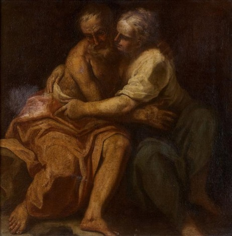 loth et ses filles by luca giordano