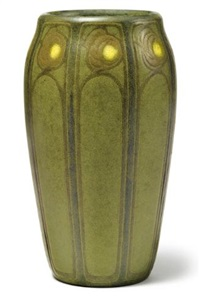 rose vase (executed by sarah w. tutt) by arthur hennessey