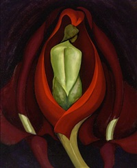 Semi-Abstraction No. 8 (Green Figure Tulip H142)