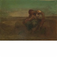 woman and child by robert loftin newman