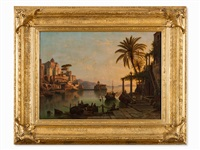 on lake como by henry jackel