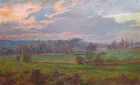 french landscape by charles jean agard