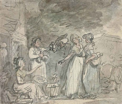 dr syntax bargaining for ducks by thomas rowlandson