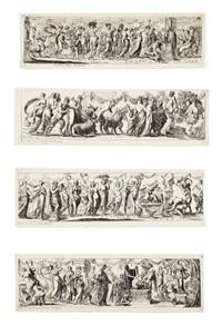 scènes de sacrifices, douze frises by pierre brebiette