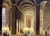 intérieur de palais animé by pierre-joseph lafontaine