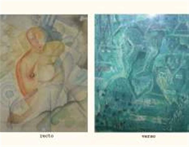 autoportrait personnages verso by moses bagel