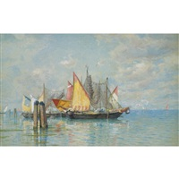 venetian sailboats by william stanley haseltine