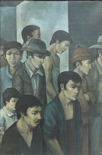 la greve by diego rivera