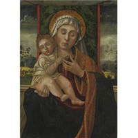 madonna and child by vincenzo de foppa