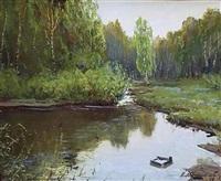 katchinski lake by anonymous-russian