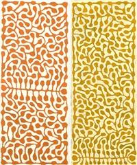 watiya tjuta (pair) by mitjili napurrula