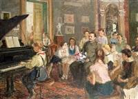 la leçon de musique by eugenia antipova