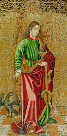 saint john the evangelist by french school aragon 16