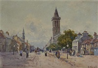 north street and st salvators, st. andrews by david small
